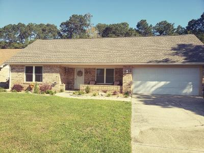 Fort Walton Beach Single Family Home For Sale: 832 Overbrook Drive