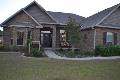 Crestview Single Family Home For Sale: 3366 Citrine Circle