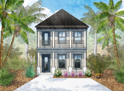 Inlet Beach Single Family Home For Sale: Lot 15 Beach View Drive