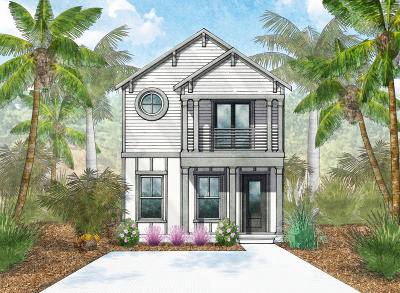 Inlet Beach Single Family Home For Sale: Lot 16 Beach View Drive