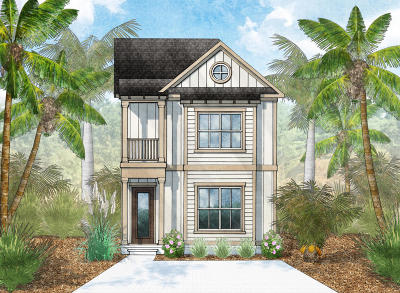 Inlet Beach Single Family Home For Sale: Lot 17 Beach View Drive