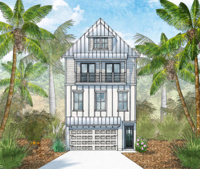 Inlet Beach Single Family Home For Sale: Lot 27 Valerie Way