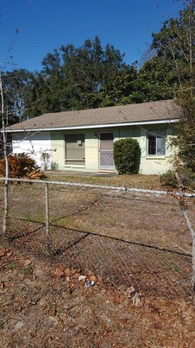 Fort Walton Beach Single Family Home For Sale: 331 SW Hollywood Boulevard