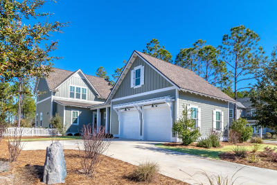 Inlet Beach Single Family Home For Sale: 16 Cannonball Lane
