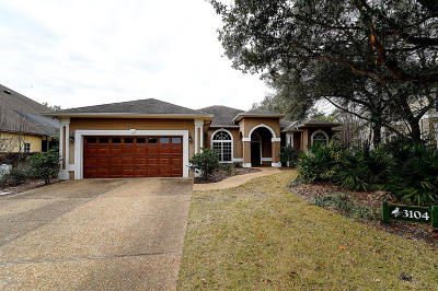 Panama City Beach Single Family Home For Sale: 3104 Preserve Rookery Boulevard