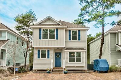 Inlet Beach Single Family Home For Sale: 90 Sandpine Loop