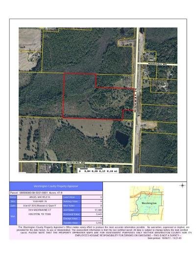 Holmes County Residential Lots & Land For Sale: 1530 Fl-79