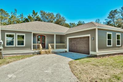 Santa Rosa Beach Single Family Home For Sale: 514 Little Canal