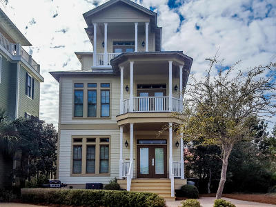 Santa Rosa Beach FL Single Family Home For Sale: $884,900