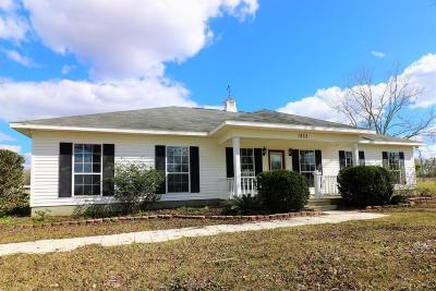 Bay County, Walton County, Washington County Single Family Home For Sale: 1333 Deerpath Road
