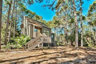 Santa Rosa Beach Single Family Home For Sale: 43 Cypress Pond Road #A&C,  B