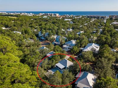Inlet Beach Single Family Home For Sale: 34 Creek Park Lane