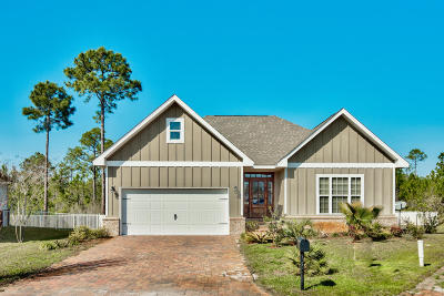 Santa Rosa Beach Single Family Home For Sale: 85 Pearl Aardon Cove