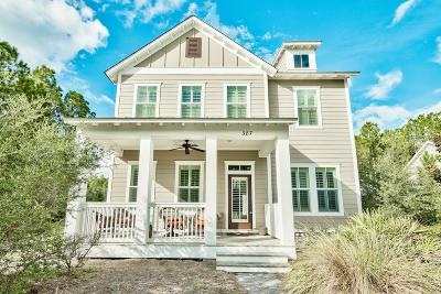 Inlet Beach Single Family Home For Sale: 387 Medley Street