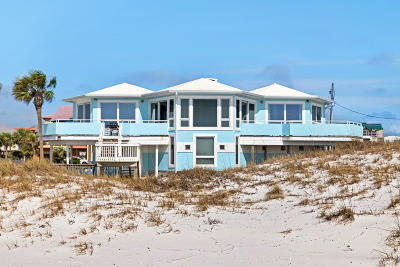 Holiday Isle Single Family Home For Sale: 606 Gulf Shore Drive