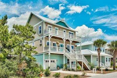 Panama City Beach Single Family Home For Sale: 486 Paradise Boulevard
