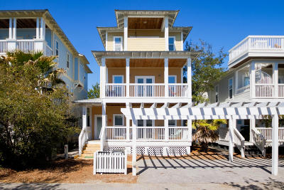 Inlet Beach Single Family Home For Sale: 144 Cottage Way