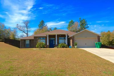 Crestview Single Family Home For Sale: 6270 Equine Drive