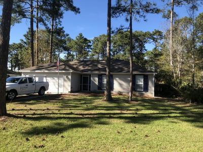 Santa Rosa Beach Single Family Home For Sale: 296 Winston Manor Road
