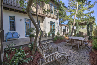 Rosemary Beach Single Family Home For Sale: 45 Town Road