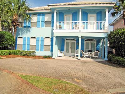 Miramar Beach Single Family Home For Sale: 23 Sapphire Cove