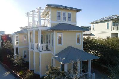 Santa Rosa Beach FL Single Family Home For Sale: $1,300,000