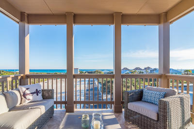 Inlet Beach Single Family Home For Sale: 46 Eagles Landing
