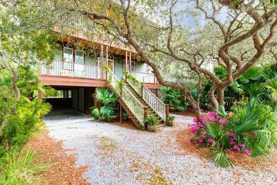 Grayton Beach, Blue Mountain Beach, Dune Allen Single Family Home For Sale: 309 Defuniak Street