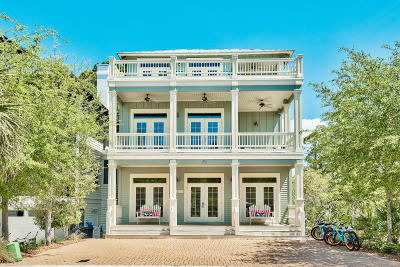 Inlet Beach Single Family Home For Sale: 192 E Blue Crab Loop