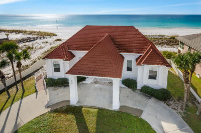 Holiday Isle Single Family Home For Sale: 626 Gulf Shore Drive