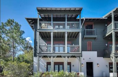 Walton County Condo/Townhouse For Sale: 15C St Augustine Street #UNIT 520
