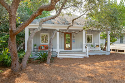 Grayton Beach, Blue Mountain Beach, Dune Allen Single Family Home For Sale: 80 Magnolia Street