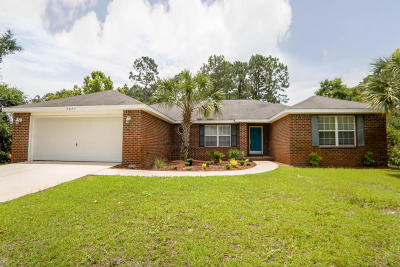 Navarre Single Family Home For Sale: 7071 Snug Waters Road