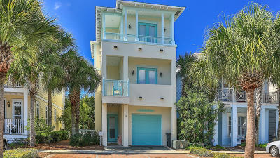 Inlet Beach Single Family Home For Sale: 18 Blue Dolphin Loop