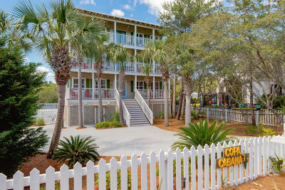 Santa Rosa Beach Single Family Home For Sale: 70 Pointe Circle