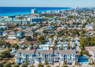 Miramar Beach Condo/Townhouse For Sale: 257 Driftwood Road #UNIT 16