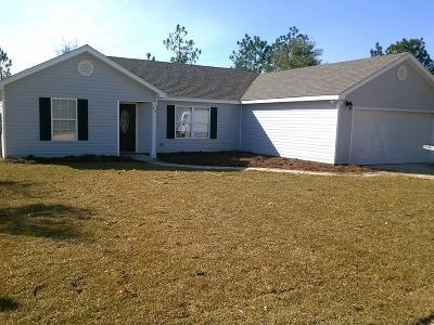 Defuniak Springs Single Family Home For Sale: lot 9 Michaelangelo Road