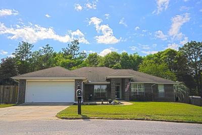 Crestview Single Family Home For Sale: 2207 Titanium Drive
