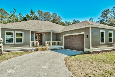 Santa Rosa Beach Single Family Home For Sale: 514 Little Canal Dr Drive
