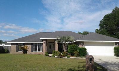 Milton Single Family Home For Sale: 3880 Sun Valley Court