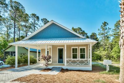 Santa Rosa Beach Single Family Home For Sale: 395 E Point Washington Road