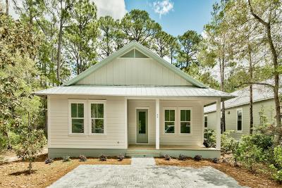 Santa Rosa Beach Single Family Home For Sale: 44 Grayton Bayou Drive Drive