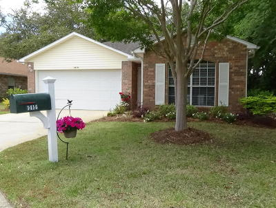 Niceville Single Family Home For Sale: 1414 Pearl S Buck Court