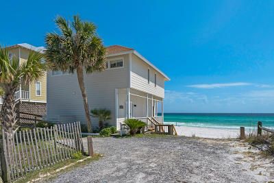Santa Rosa Beach Single Family Home For Sale: 5221 W County Hwy 30a