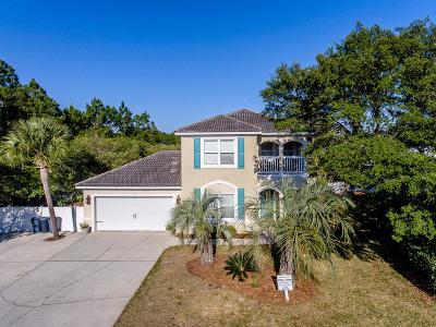 Santa Rosa Beach Single Family Home For Sale: 74 N Greenwood Avenue