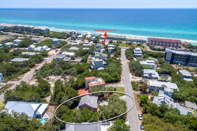 Inlet Beach Single Family Home For Sale: 98 Clareon Drive