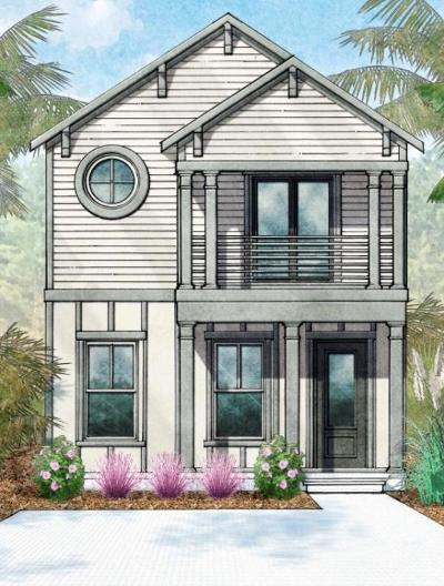 Inlet Beach Single Family Home For Sale: Lot 18 Beach View Drive