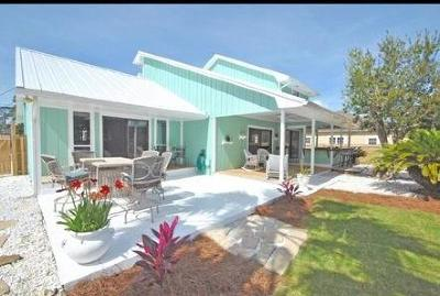 Panama City Beach Single Family Home For Sale: 306 Fairway Boulevard