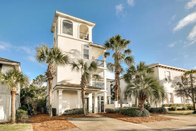 Inlet Beach Single Family Home For Sale: 63 Longue Vue Drive