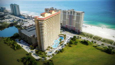 Destin, Sandestin, Dune Allen Beach, Santa Rosa Beach, Blue Mountain Beach, Grayton Beach, Watercolor, Seaside, Seagrove Beach, Watersound Beach, Alys Beach, Seacrest Beach, Rosemary Beach, Inlet Beach, Carillon Beach, Panama City Beach Condo/Townhouse For Sale: 15928 Front Beach Road #212